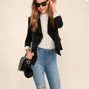 Lulus Uptown Girl Blazer Size S